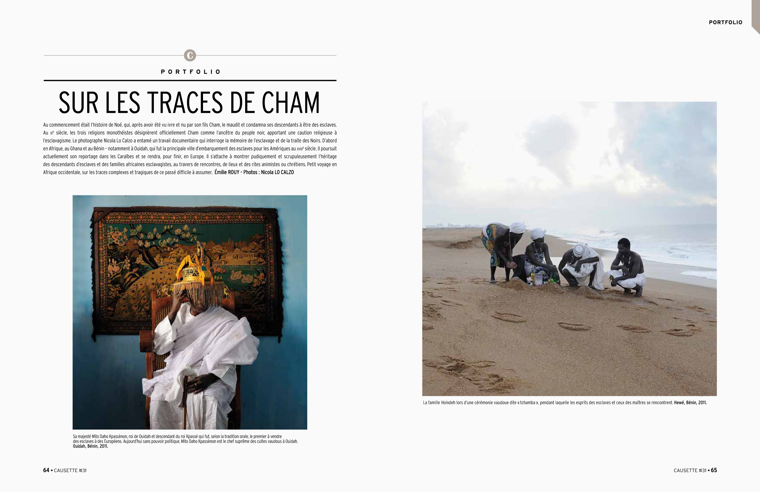 Cham published in Causette